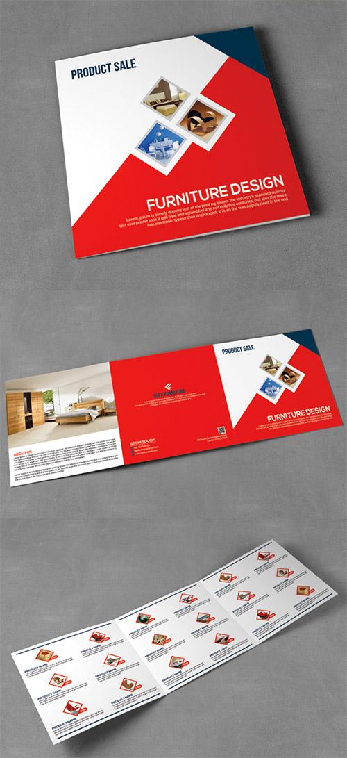30款国外优秀的创意三折页广告设计